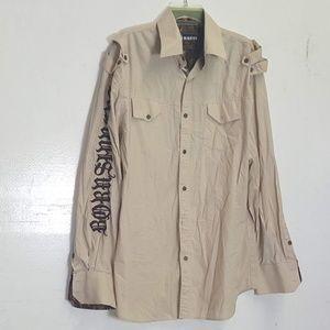 Sinners 2XL shirt button up